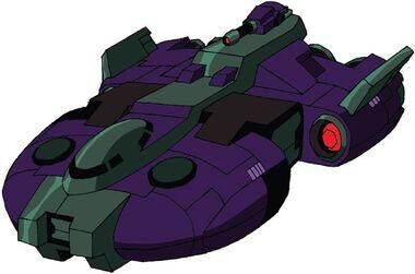 Transformers Animated Lugnut Supreme spaceship