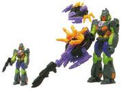 Banzaitron and Razor-Sharp Generation 1 Toy Actionmaster