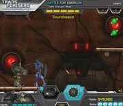 Battle for Energon Bulkhead VS Soundwave