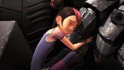 Deadlock screenshot Bulkhead and Miko moment