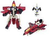 PL Red Thrust toy