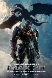 The Last Knight Worlds Collide Poster