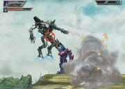 Battle for the Matrix Level 3-3 Optimus Fights Starscream