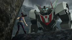 Chain of Command Wheeljack and Miko