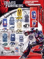 Transformers Danglers Collection Catalog 2
