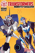 Robots in Disguise Ausgabe 3 Variant Cover