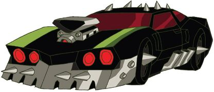 Transformers Animated Lockdown car