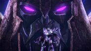 Unicron with Megatron