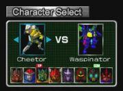 Beast Wars Transmetals Nintendo 64 Cheetor VS Waspinator