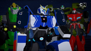 Bulkhead, Grimlock, Strongarm and Sideswipe (Combiner Force Ep. 24)