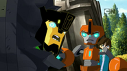 Russell, Grimlock and Fixit