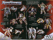 Transformers Star Wars Toy Catalog 1
