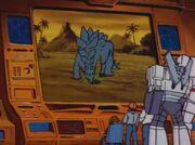 War of the Dinobots Stegosaurus