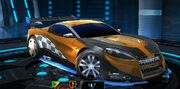 Transformers Universe Clear-Cut Vehicle Mode