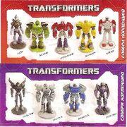 Transformers Prime Chocolate Balls Confitrade