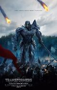 Transformers 5 Poster Knight