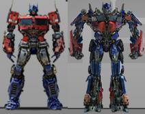 Earth optimus prime comparison