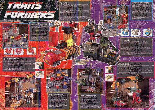 Transformers 1992 UK Catalog