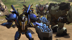 Smokescreen joinnig the Wreckers