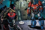 Fall of Cybertron Part 1 Optimus and Grimlock
