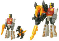 G1 ActionMaster Snarl toy