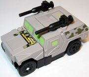 Humvee Generation 2 Ironhide European Toy Vehicle Mode