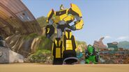 Bee with Grimlock 2015