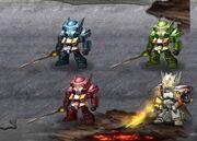 Transformers Frontiers Swordsmen