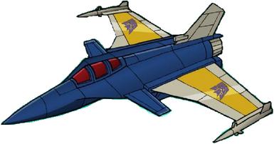 Transformers Victory Hellbat jet