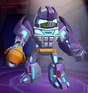 Angry Birds Transformers Energon Galvatron Robot Mode