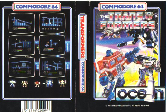 The Transformers (Commodore 64) | Teletraan I: The