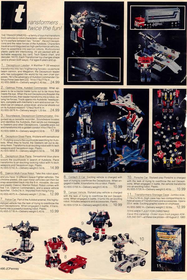 Transformers G1 1989 Parts MAINFRAME partner action master