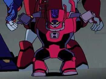 TFA Headmaster robot mode