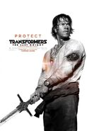 Transformers 5 Poster Yeager