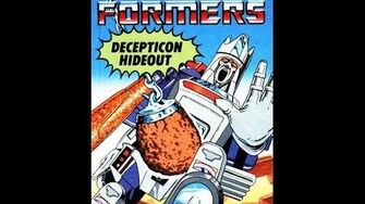 Decepticon Hideout by John Grant - 1986 Transformers Audiobook