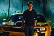 Sam Witwicky and Bumblebee (M. Bay)