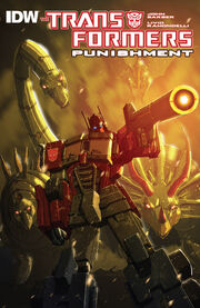 Transformers Punishment Cover