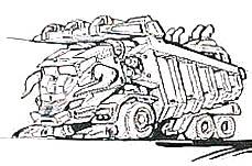 Buffalo-dump motorworld concept