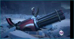 Optimus's gun