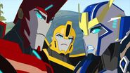 As the Kospego Commands! Sideswipe, Bee, Strongarm