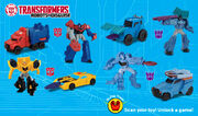 Robots in Disguise Happy Meal 2016 Set