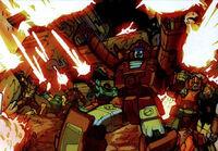 SpotlightArcee Autobotsfighting
