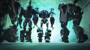 Deadlock Autobots leave