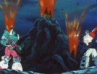 Masterforce ep29 King Poseidon Faceoff