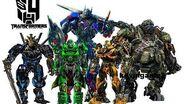 Transformers 4 Age of Extinction - cast robots