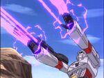 Microbots Megatron energy blasts