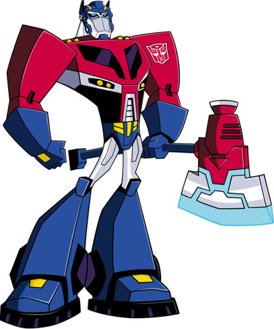 Optimus Prime Animated Teletraan I The Transformers Wiki