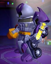 Angry Birds Transformers Galvatron Features