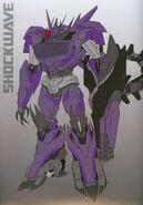 Transformers Prime Shockwave Concept Art