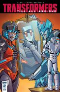 TF Comic Till All Are One 2 Variant Cover